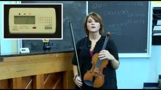 Korg's Tuning Orchestral String Instruments: Violin