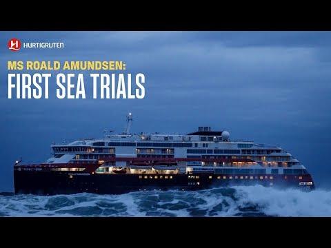 MS Roald Amundsen Sea Trials