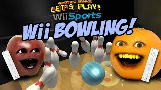 Annoying Orange - WII BOWLING