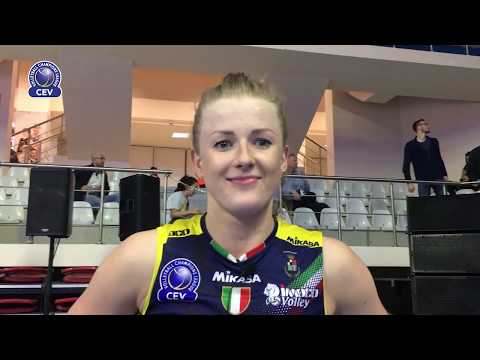 Joanna Wolosz reaction after Eczacibasi VitrA Istanbul - Imoco Volley Conegliano