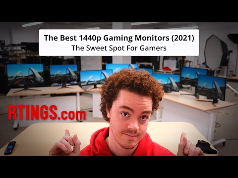 The Best 1440p Gaming Monitors (2021) - The Sweet Spot for Gamers