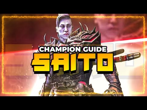 Saito Champ Guide! | DPS King?! | Raid Shadow Legends