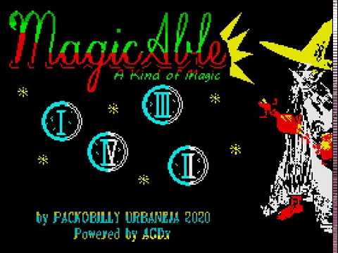 MagicAble © 2020 Packobilly / F.J. Urbaneja. ZX Spectrum