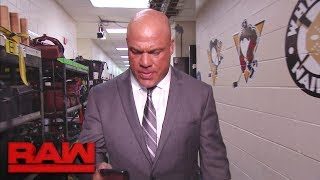 "Corey Graves and Kurt Angle have a ""private"" conversation: Raw, June 5, 2017"