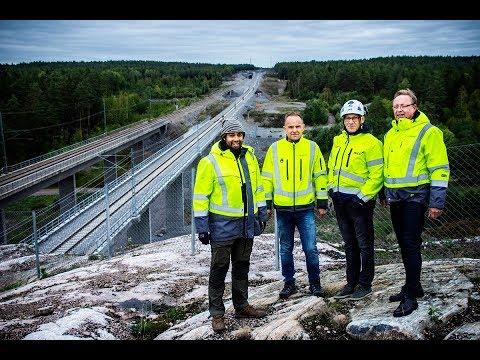 Årets Bygge 2019 – Dubbelspår Strängnäs–Härad