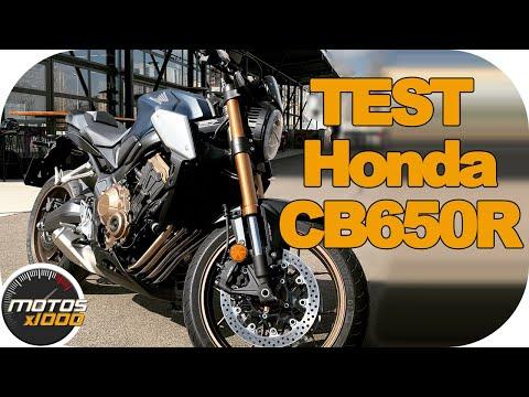 Test Honda CB650R