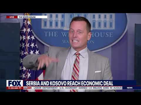 LECTURE TIME: Richard Grenell TAKES DOWN Reporters For Asking OFF TOPIC Questions