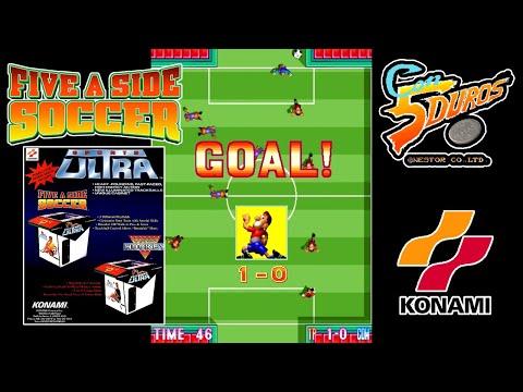 """FIVE A SIDE SOCCER  - """"CON 5 DUROS"""" Episodio 906 (+ Random Soccer y más Juegos Online) (1cc)"""