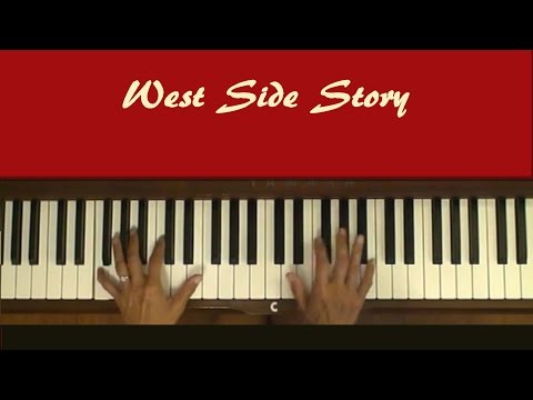 tonight west side story chords