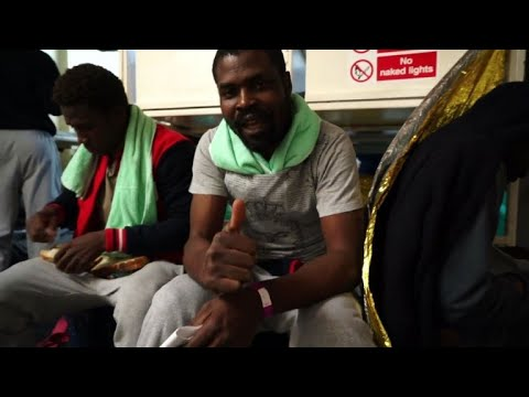 'A positive ending' for migrants stranded off the coast of Malta