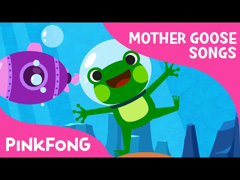 There's a hole in the Middle of the Sea | Mother Goose | PINKFONG Songs for Children - YouTube