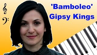 Gipsy Kings - Bamboleo with free download notations ბამბოლეო