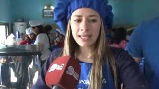 """VIVIANA MENENDEZ- INGRID BENHAM - """"COCINERITOS"""" NUEVA ACTIVIDAD EN EL BARRIO BICENTENARIO"""