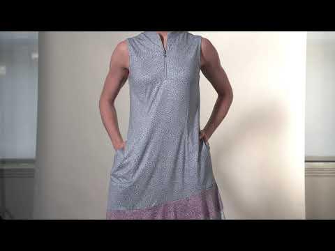 G2F21K208_Piazza Sleeveless Zip Dress