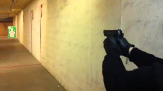 My brother shooting his new Bersa thunder pro9