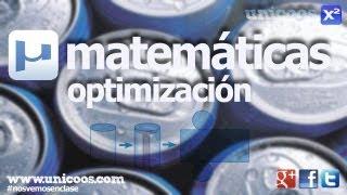 Imagen en miniatura para Optimización de la superficie de un cilindro