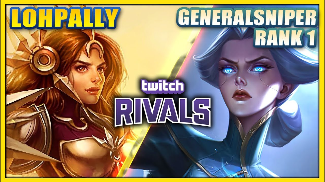 Lohpally - Taking on the Rank 1 Player in TWITCH RIVALS (FT. SANCHOVIES)- League of Legends