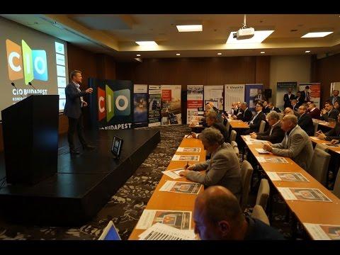 CIO Budapest konferencia - 2016. november 9.