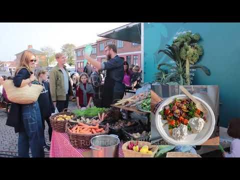 Høstfest på torvet i Nykøbing Sjælland