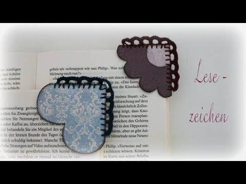 Lesezeichen * DIY * Bookmark [eng sub]