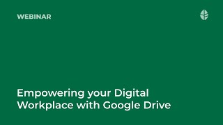Empowering your Digital Workplace with Google Drive Logo