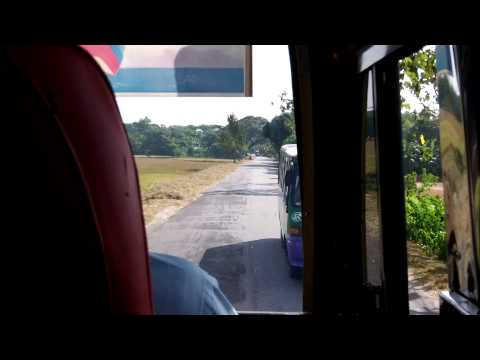 Bus to Srimangal