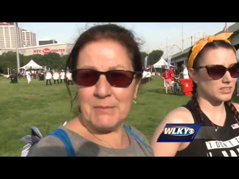 Biannual event attracts thousands to Waterfront Park