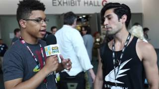 Interviewing Danny Shepherd from Ismahawk at SDCC 2016!
