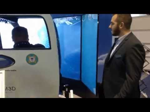 Mannequin Challenge - D-BOX booth at I/ITSEC 2016