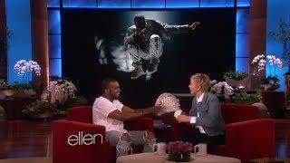 Ellen's Gift for Kanye West on Ellen show