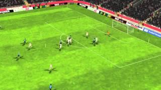 R. Madrid x Gr�mio - Gol de Marlon De J. 17 minutos