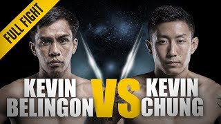 ONE: Full Fight | Kevin Belingon vs. Kevin Chung | A Thrilling Three-Round Battle | November 2017 width=