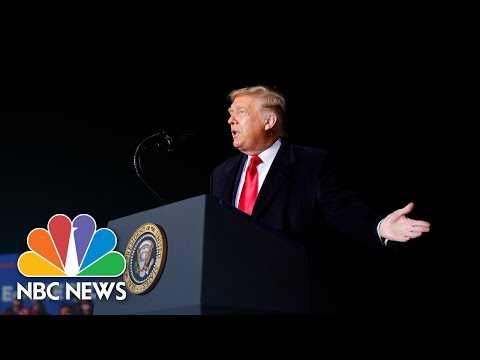 Trump Promises Aid For Farmers At Wisc. Campaign Rally | NBC News NOW