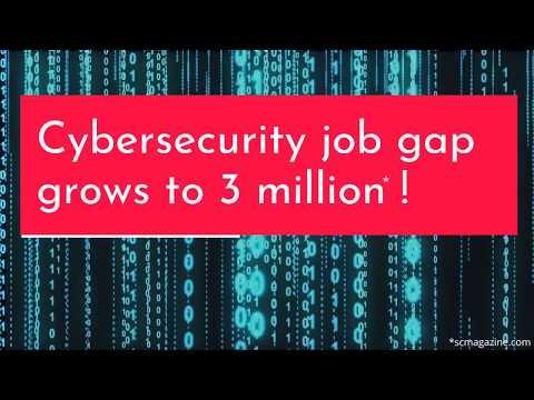 Cybersecurity Job Gap Grows to 3 Million*!