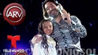 Jovencita colombiana canta rancheras a Vicente Fernández | Al Rojo Vivo | Telemundo