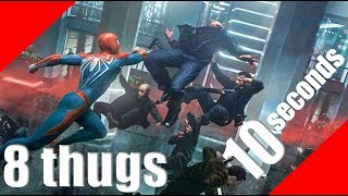 How to Defeat Demon Crimes in 10 seconds - SpiderMan PS4 GamePlay