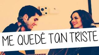 Octubre Doce - Me quedé tan triste (inédita) (Lyrics)