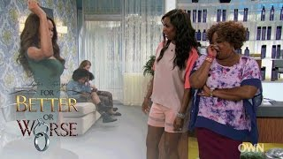 Leslie Spills the Details on Her Love Life | Tyler Perry's For Better or Worse | OWN