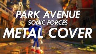 Sonic Forces Park Avenue Theme Metal Cover