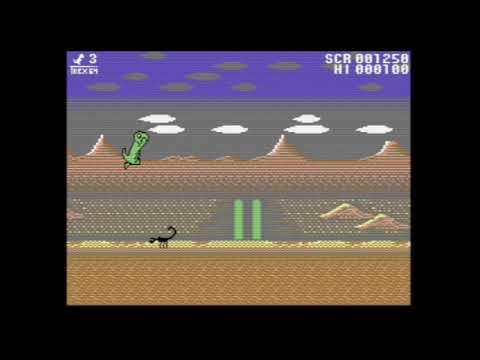 T-Rex 64 - The Lockdown Studio p/ Commodore 64 - Un review de RETROJuegos