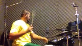 Harry Aziz Practise Drum Cover Elang Mahadewa