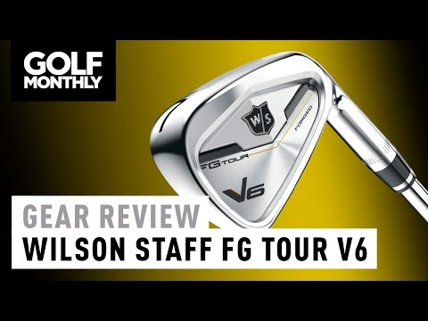 Wilson Staff FG Tour V6 Poster
