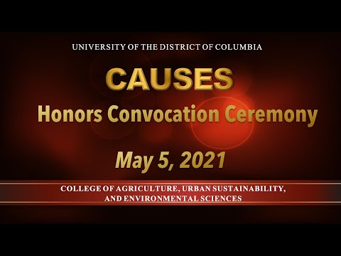 CAUSES 2021 Honors Convocation