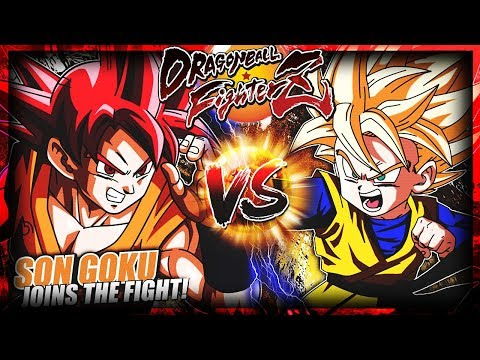 GOKU VERSUS GOTEN! DRAGON BALL FIGHTERZ!