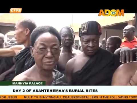 Day 2 of Asantehemaa's Burial Rites on Adom TV (17-1-17)