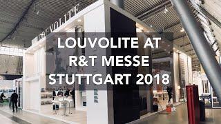Louvolite at R+T Messe Stuttgart