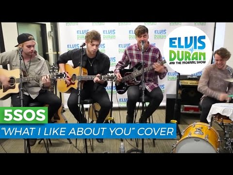 5-seconds-of-summer-what-i-like-about-you-acoustic-cover-elvis-duran-live-elvis-duran