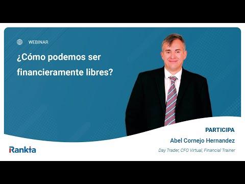 Abel Cornejo nos cuenta su experiencia y cómo podemos lograr la libertad financiera.