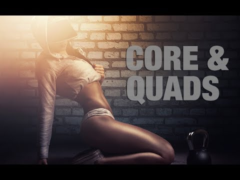Flat Abs and Toned Thighs Workout (CORE & QUADS!!)
