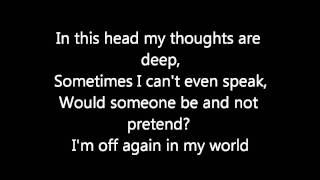 Avril Lavigne- My World (Lyrics)